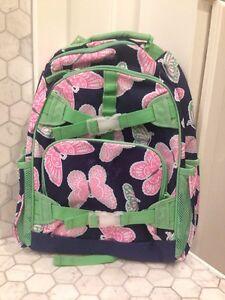 New Pottery Barn Kids Mackenzie Large Butterfly Backpack