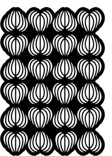 CREATIVE EXPRESSIONS A5 Stencil Mask HEARTS DELIGHT CEST002