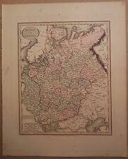 JOHN CARY MAP OF RUSSIA IN EUROPE 1813 FROM HIS New Elementary Atlas