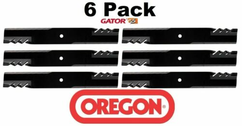 "6 Pack Oregon 596-347 G5 Gator Mulcher Blade for Great Dane D18036 61/"""
