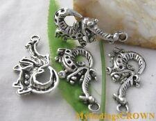 22pcs Tibetan silver Statue Of Liberty charm pendants EF1353