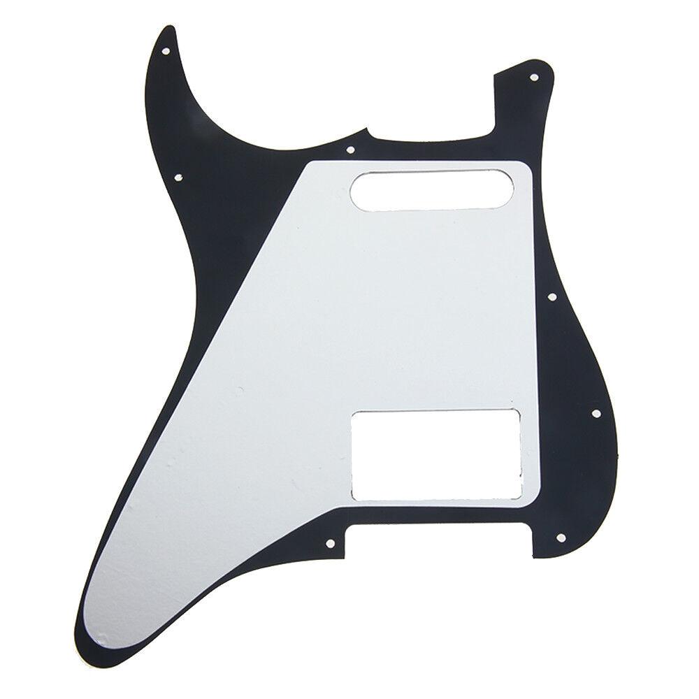 guitar pickguard for fender stratocaster strat parts hs single humbucker black 634458593984 ebay. Black Bedroom Furniture Sets. Home Design Ideas