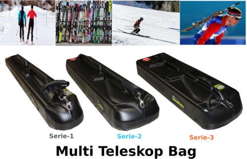 Sportube Teleskop Skitasche Skicase Skibag Snowboardtasche Dachbox Dachkoffer