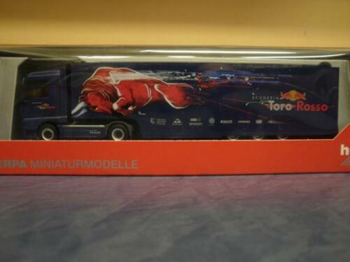 Herpa LKW MAN TG-A XXL Aerop RenntransportSZ Toro Rosso