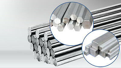 CHEAP - STAINLESS HEXAGON BAR MODEL MAKING VARIOUS SIZES AND LENGTHS