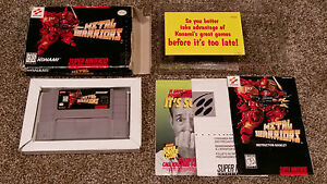 Metal-Warriors-Super-Nintendo-SNES-Video-Game-CIB-Complete-lot-TESTED-AUTHENTIC