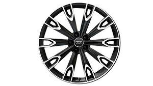 "Audi 21"" 31mm ET Aluminium Felgen - Schwarz (4M0071491 LT7)"