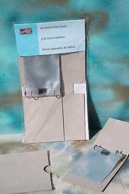 NIP  FREE SHIPPING! Stampin Up On Board Art Journal