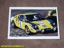 Jean RAGNOTTI - original autogramm, Ligier JS2 (1972 TdeCorse), Foto 10x15 cm/2