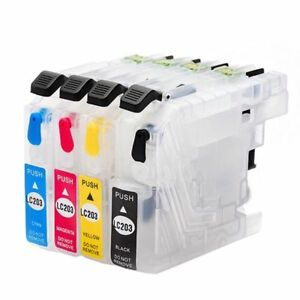 Empty-Refillable-Ink-Cartridges-for-Brother-LC203-LC205-MFC-J4620DW-MFC-J5520DW