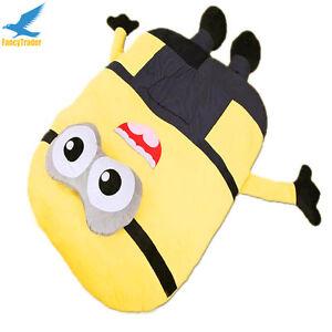 Image Is Loading Giant Minion Sleeping Bag Cartoon Sofa Bed Tatami