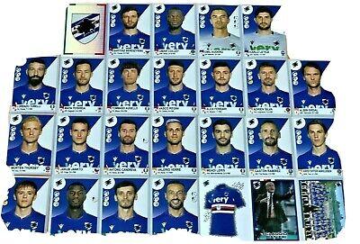 Figurine stickers Sampdoria squadra completa Calciatori Panini 2016//17