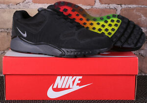 332868f624f1d New Nike Air Zoom Talaria  16 Black Dark Grey Running Shoes 844695 ...