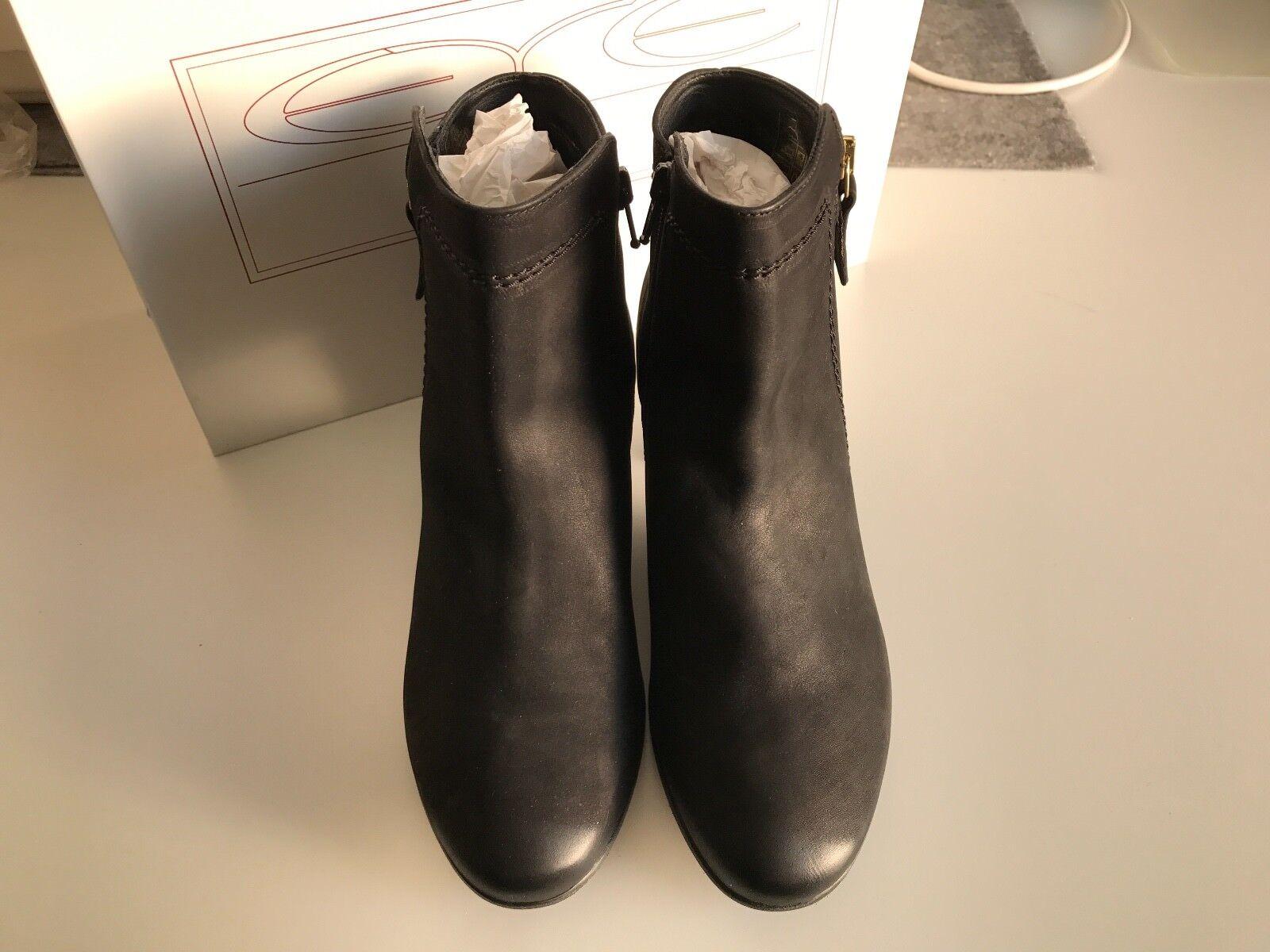 EYE Stiefel – NEU – Leder Stiefelette, Stiefel, Stiefel EYE Gr. 38, Schwarz NP 88330f