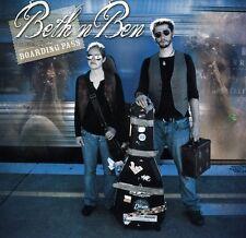 Beth 'n Bben - Boarding Pass [New CD]