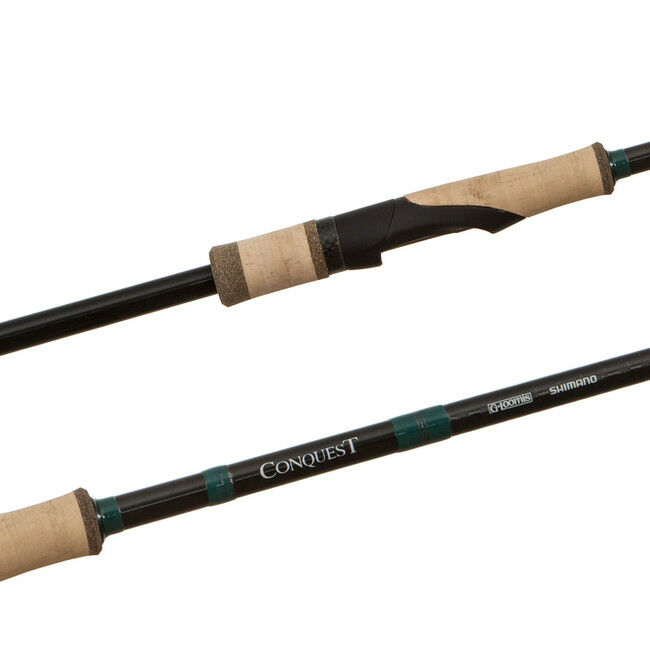 1 NEW G.Loomis Conquest Spin Jig Rod 7'6 CNQ 902S SJ AUTHORIZED Dealer FREE SHIP