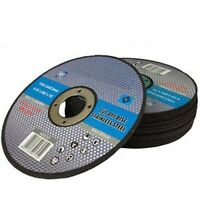 """25 x 115mm 4.5"""" ULTRA THIN METAL CUTTING BLADE DISC 4 1/2"""" STEEL & STAINLESS 1MM"""