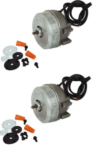 2 SM5109 Supco Condenser Fan Motors 2W 115V for Whirlpool Kenmore 833697