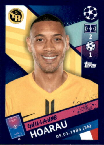 Sticker 558 Guillaume Hoarau Topps Champions League 18//19
