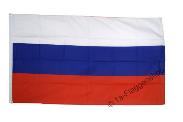 Fahne Russland Flagge russische Hissflagge 90x150cm