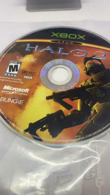 Halo 2 (Microsoft Xbox, 2009) Disc Only Used !!!BUY_IT_NOW!!