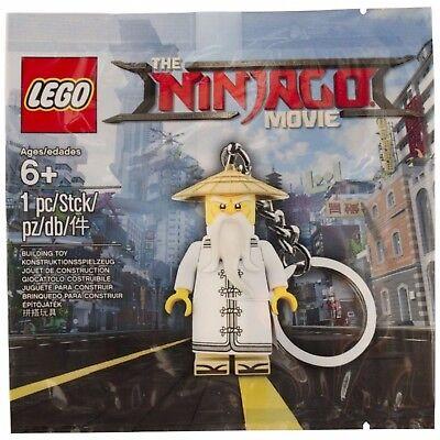 1st Class Nuovo di zecca consegna LEGO Ninjago Film Wu PORTACHIAVI 5004915 POLYBAG