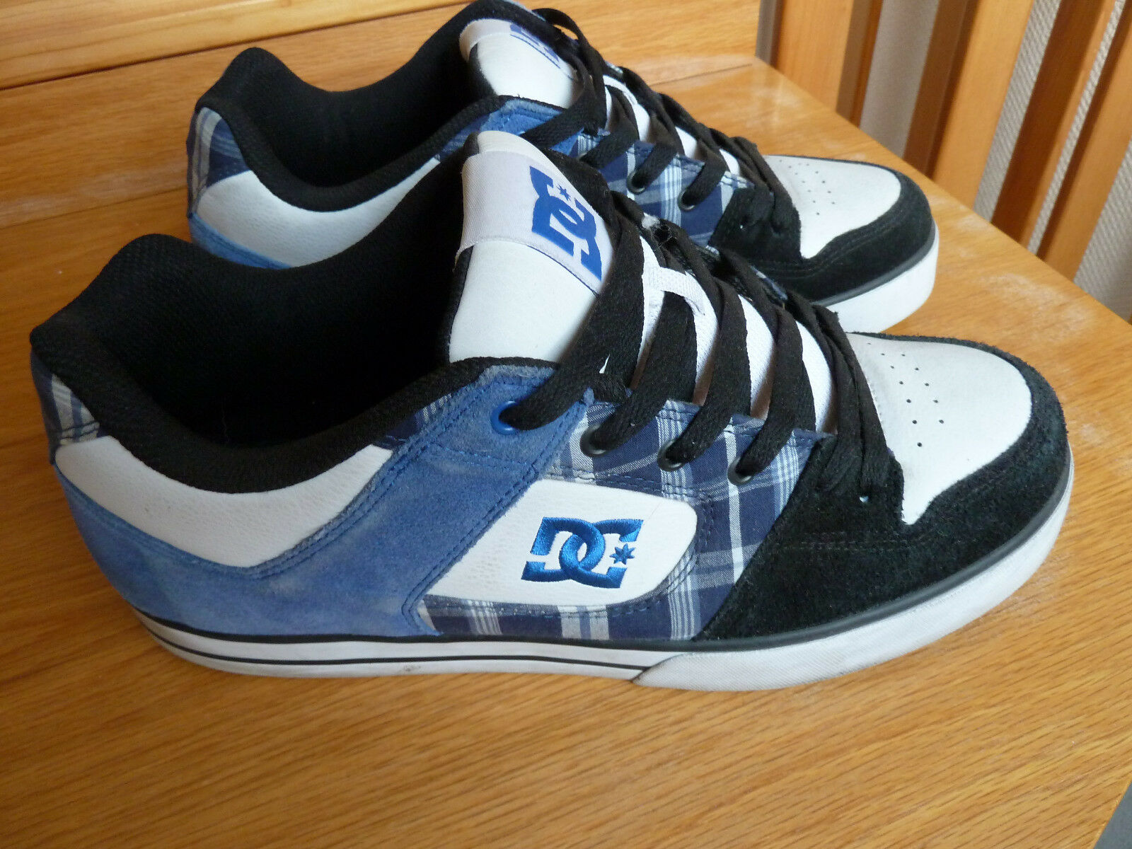 Original DC Pure XE, Gr. 47,5   US 13   31 cm - DC shoes  301722 black white navy