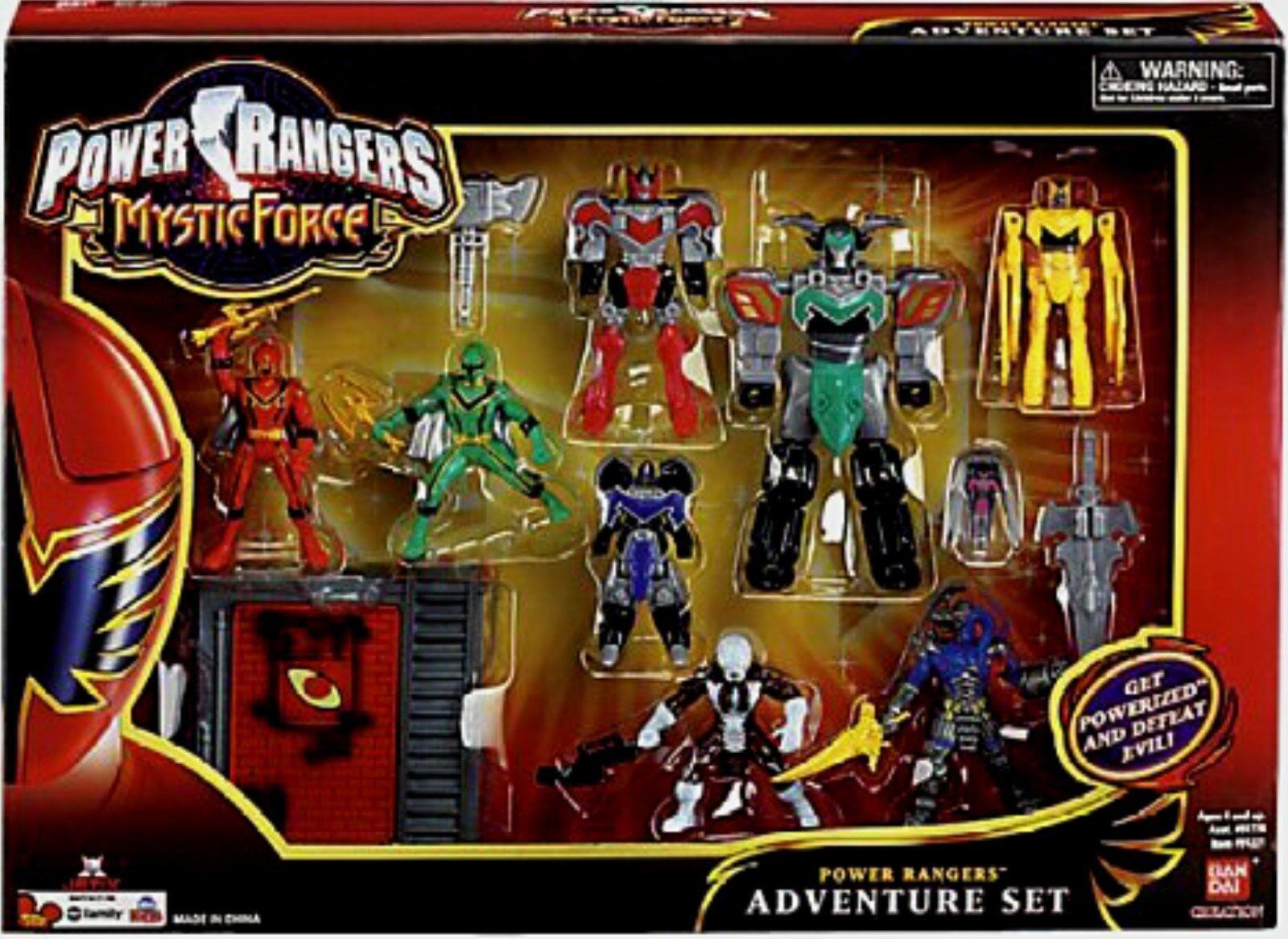 venta con alto descuento Power Rangers Mystic Force Mini 7    Titan Megazord Nuevo Rojo Y verde 2 mal alienígenas  nueva marca