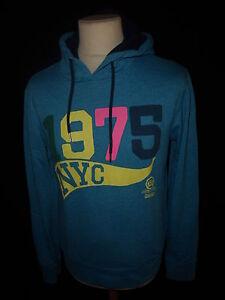 Sweatshirt-Jack-amp-Jones-blau-Groesse-M-bis-51