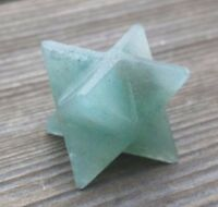 Natural Green Aventurine Gemstone Merkaba Star (one) - Buy It Now