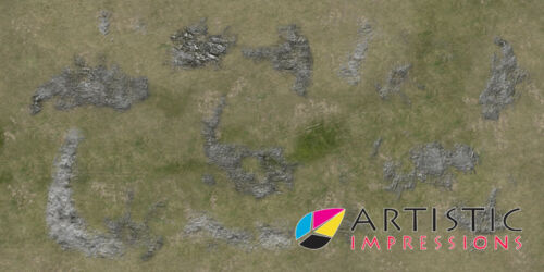 Vinyl 6x3' Battleground Gaming Mat Wargames & Role-Playing Ideal for