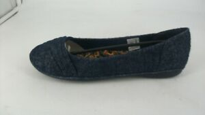 Rocketdog-Raylan-Maple-Navy-Cotton-Ballet-Flats-UK-6-Eu-39-JS55-51