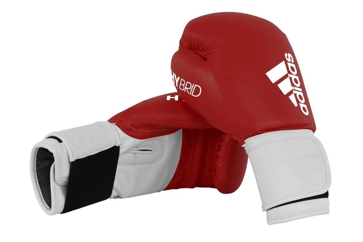 Adidas Boxen Sparringshandschuhe Hybrid 100 8oz 10oz 10oz 10oz 12oz 14oz 16oz Schwarz Rot b90934
