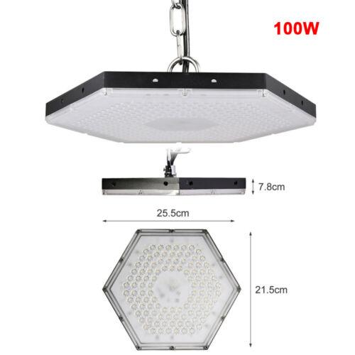 100W 300W LED High Bay Light Road Street Light Factory Warehouse Lighting Lamp