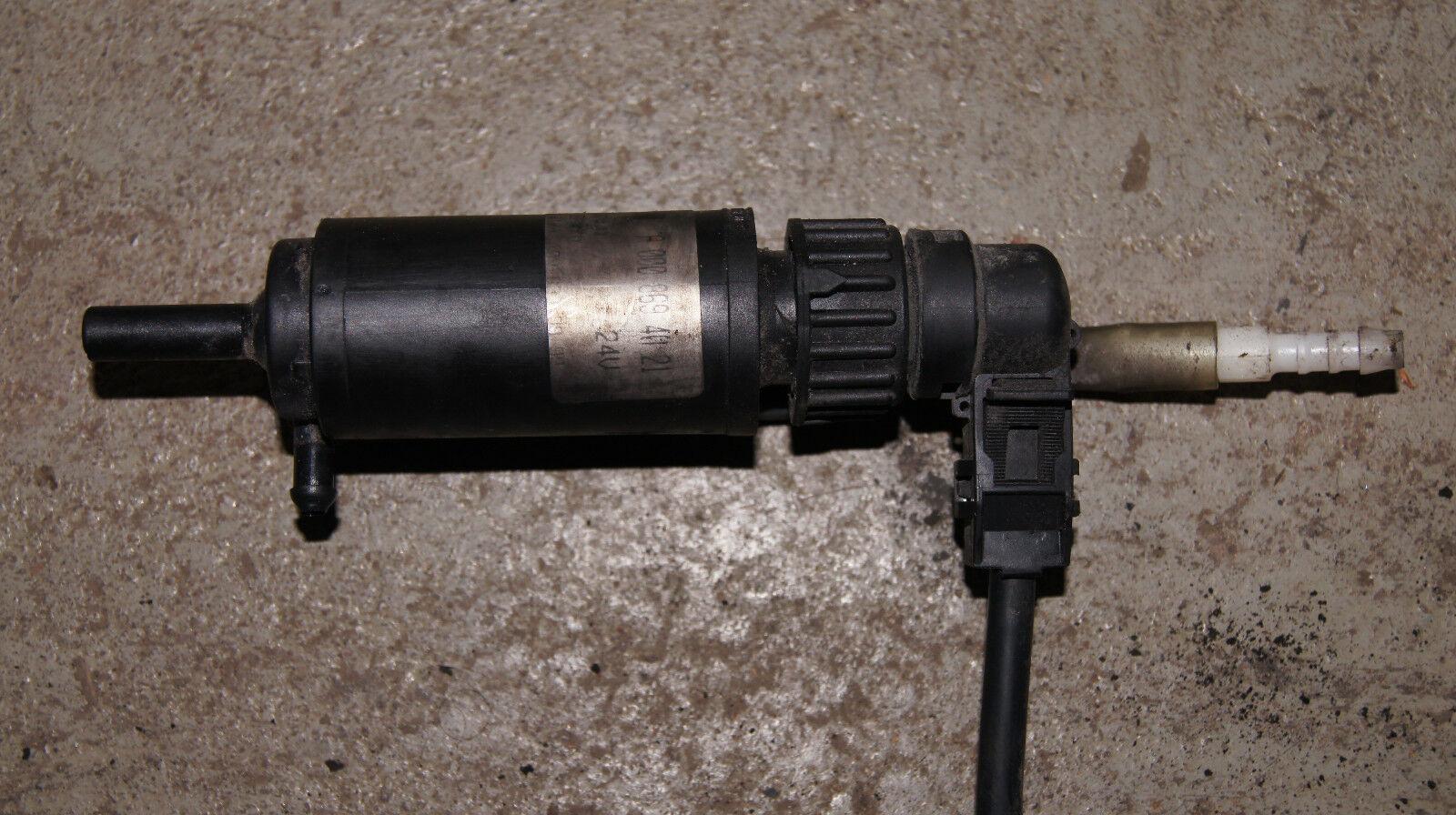 SIDAT Waschwasserpumpe Scheibenreinigung 5.5186 für MP2 ACTROS ATEGO MERCEDES
