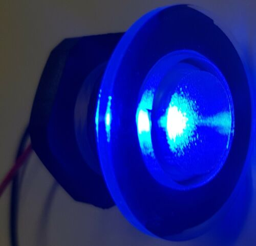 2x NEW LED LIVEWELL BAIT TANK LIGHT //COURTESY LAMP-BOAT//CARAVAN Submersible BLUE