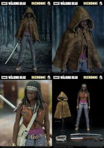 The Walking Dead Michonne Figurine de collection Threezero à l'échelle 1 / 6ème