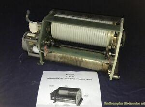 Roller Motorizado Bobina Variablie De 3-80 Micro Henry