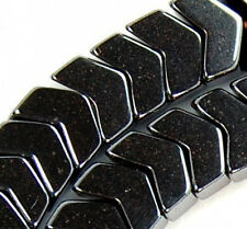 """6x8mm Natural Hematite Beads 15.5"""""""
