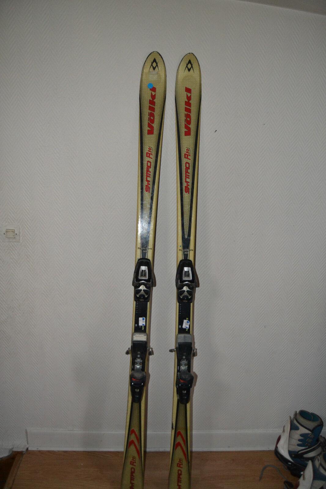 Esquí Volkl Sympro R10 Parabólico Tamaño 180cm + Fijación Salomon S 700 Ski