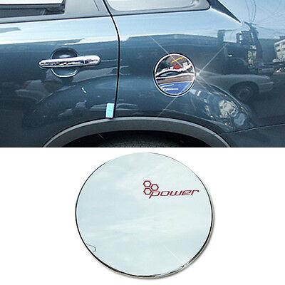 Chrome Silver Fuel Cap Cover Molding Garnish Trim B304 For KIA 2010-14 Sorento R