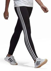 Adidas Originals Women s Black 3-Stripes Leggings CE2441 - Size  UK ... 982cb73e7a3