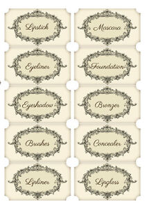 Cy/_ Mini Self-adhesive Labels Blank Name Number Sticker Student Office Stationer