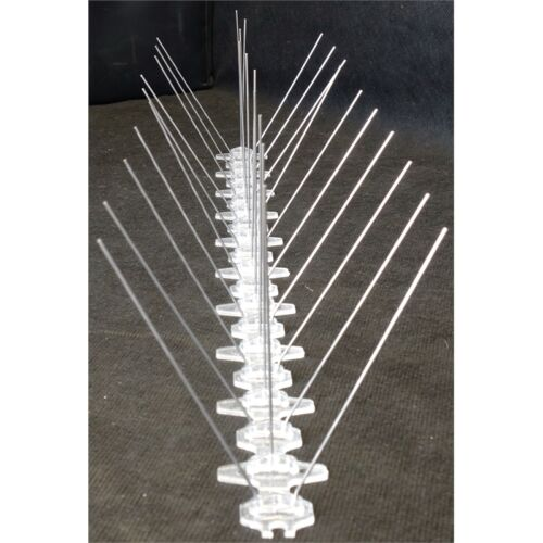 50 x 10 x 10cm Stainless Steel Bird Spike Pack 10
