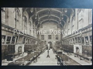 Image Is Loading Old Pc Oxford Christ Church College Dining Hall