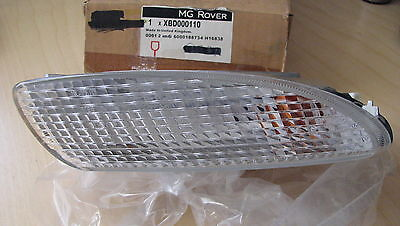 . left. XBD000110 Rover 75 Front indicator unit.