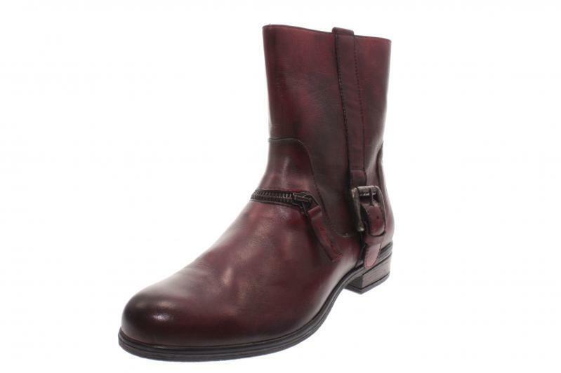 PintoDiBlau Damen Stiefel Stiefelette rot (Rot) 78880-1681