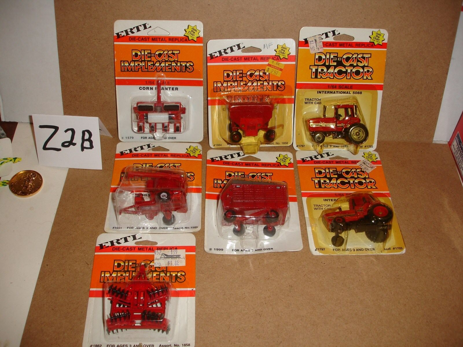 1 64 International Grouping - 7-pieces, all in original packages