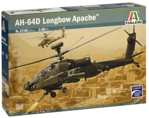 AH-64D Apache Longbow - Helicopter 1 48 - Italeri 2748