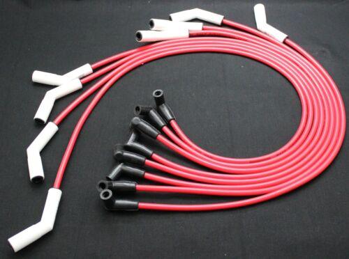 HEI Distributor 8.5mm Ceramic Spark Plug Wires Pontiac 350 389 400 421 428 455